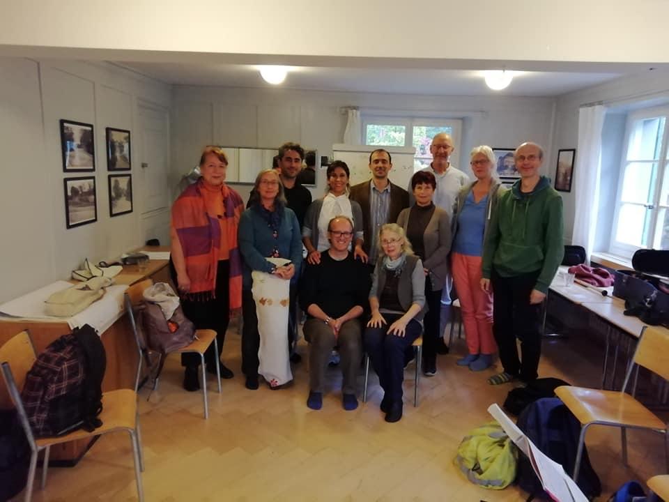 Katılımcılarla kapanış fotoğrafı - 5 Ekim 2019, Zürih, Rast Makam Kampı