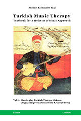 Michael Bachmaier-Ekşi. Türk Müzik Terapisi - Bütüncül bir Tıbbi Yaklaşım için Ders Kitabı. Cilt 1: Ruha Şifa: Pisagor'dan İbn-i Sina'ya (İngilizce. Turkish Music Therapy - Textbook for a Holistic Medical Approach: Vol. 1: Healing the Soul: from Pythagoras to Ibn Sina.) Türk Terapi Makamlarının İcrası - Dr. Rahmi Oruç Güvenç'in Orjinal Emprovizasyonları (How to Play Turkish Therapy Makams - Original Improvisations by Dr. R. Oruç Güvenç)